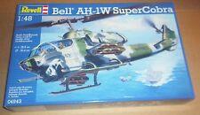 REVELL Bell ah-1w SUPER COBRA KIT MODELLINO IN SCALA 1:48 Attack Helicopter Marines degli Stati Uniti
