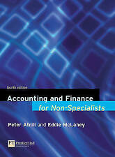 """VERY GOOD"" Accounting and Finance for Non-Specialists, McLaney, Eddie,Atrill, D"