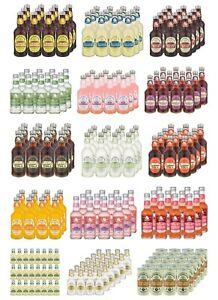 Fentimans Multipack Flavour Alcohol-Free Shandy Rose Lemonade Elderflower x275ML