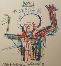 Jean Michel Basquiat Painting, Expressionism, Signed, Original Art, Warhol era