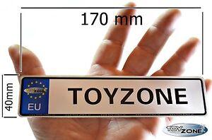 EU Kinder Nummernschild Party Schilder KFZ Namenschilder Kinder Elektro Fahrzeug