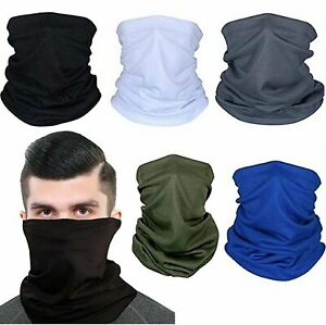 Face Mask Bandana Reusable Washable Fashion Cover Neck Gaiter Neckerchief Scarf