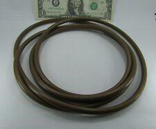 "HUGE 6' 10"" Long Brown Viton? Rubber O-Rings, .275"" Thick X 26"" Diameter 3501002"