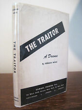1st Edition THE TRAITOR Herman Wouk PLAY Drama FIRST PRINTING Classic FICTION