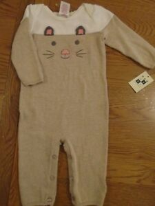 BNWT baby knitted romper. Mouse face. Max Studios. 6-9 months           (2/1)