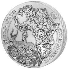 1 oz Silber Ruanda PP Antilope Impala 2014