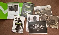 Call of Duty MW3 Classified Intel Pack ~ PS3/Xbox 360 ~ Double XP, Postcards