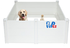 "Whelping Box for Dog Breeding + *Bonus Puppy Rail* | All Breeds | 48""x48""x18"" ;"