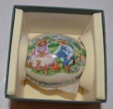Lenox  1991 Sharing Easter Gifts Egg