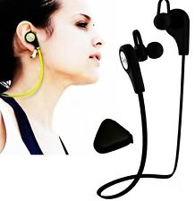 Bluetooth Headphones Wireless Sweat-proof Sports Stereo Earphone Headset Black