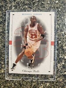 1998 - 1999 SP AUTHENTIC SAMPLE MICHAEL JORDAN #23,-RARE Dealer Promo!