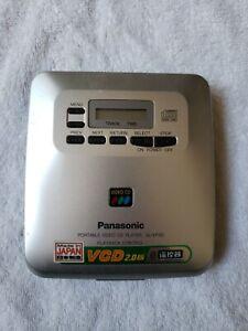 PANASONIC PORTABLE VIDEO CD (VCD) PLAYER SL-VP30