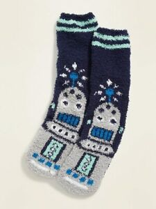 Super Soft Robot Men's Cozy Socks - OLD NAVY -  NEW with tags Christmas gift