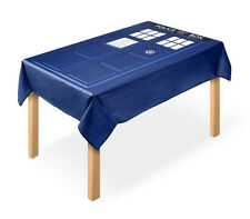 Officially Licensed Doctor Who TARDIS Tablecloth  *Damaged box*