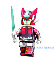 Rockman Mega Man ZX Anime Series building toy block Figures Gift Toys Model