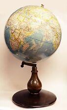 1940ca - Antiguo Globo Terraqueo Paluzie 40cm. diámetro Terrestrial Globe