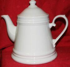 Porzellan Teekanne Nostalgie weiß  ca. 0,8 ltr., Landhaus Stil