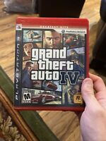 Grand Theft Auto IV (PlayStation 3, 2008) Complete With Manual And Map