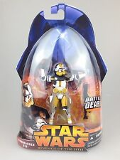 Star Wars revenge of the sith - Hasbro carded figure #57 Commander Bly Scarce