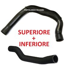 TUBO MANICOTTO SUPERIORE + INFERIORE INTERCOOLER ALFA ROMEO 147 1.9 JTD JTDM