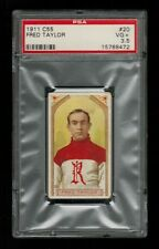 PSA 3.5  FRED CYCLONE TAYLOR 1911 C55 Imperial Tobacco Hockey Card #20