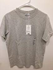 NEW Uniqlo U Lemaire Men's Crewneck Cotton Short Sleeve T-Shirt Men XS Grey