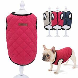 Pet Dog Sweater Winter Soft Clothes Puppy Chihuahua Fleece Vest Jacket Coat