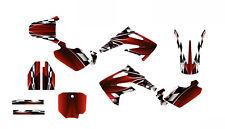 CR85 graphics for Honda 2003-2013 dirt bike sticker kit  NO2500 Red