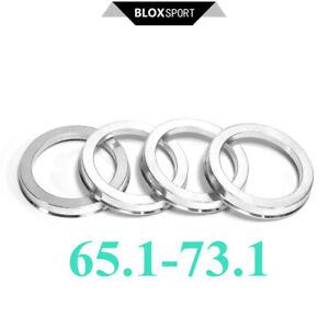 ID=65.1 OD=73.1 (4pcs) Hub Centric Ring for Saab 900 ab 03/79 incl. Cabrio, 9000