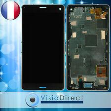 Ecran pour Sony Xperia Z3 Compact D5803 D5833 noir vitre tactile + LCD + châssis