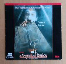 The Serpent and the Rainbow (1988) NTSC Laserdisc 40772