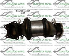Catalytic Converter-Exact-Fit - Pre Converter Front Left Davico Exc CA 18157