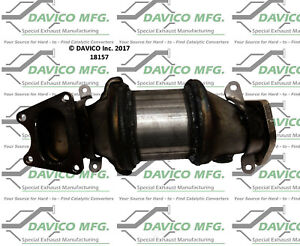 Catalytic Converter-Exact-Fit - Pre Converter Front Left Davico Exc CA 18157