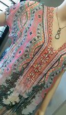 BNWT RPP $139.95 Size 20 SEVEN SISTERS KADJU blouse top NEW 126cm pink orange