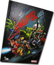 MARVELous Hard Cover By J Scott Campbell HTF New Limited Marvel Artbook Rare