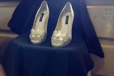 WOMAN's  DESIGNER -  SATIN -  SPECIAL OCASSION SHOES FROM NINA