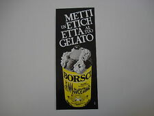 advertising Pubblicità 1982 AMARO BORSCI S. MARZANO