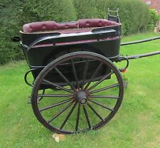 Charming Horse Drawn Governess Cart, Pony Trap, Gig