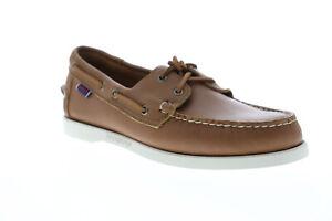 Sebago Portland Docksides Mens Brown Loafers & Slip Ons Boat Shoes