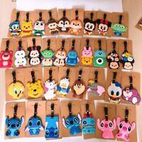 lilo&stitch danald mickey minnie PVC tag luggage tags Baggage Tag brand cute