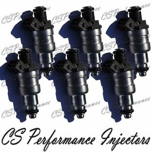 Siemens Fuel Injectors Set (6) 4418661 for 90-91 Chrysler Dodge Plymouth 3.3 3.8