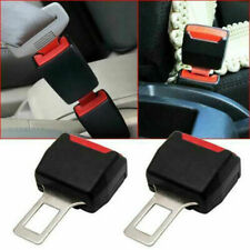 2X Car Safety Seat Belt Buckle Extension Extender Clip Alarm Stopper Accessories