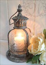Vintage Lantern Holder Candle Style Garden Antique French Moroccan Fleur De Lys