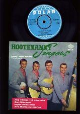 Abba-Hootenanny Singers-Jag väntar VID min mila + 3 EP 7 Inch Vinyl-Sweden