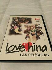 Love Hina Las Peliculas Dvd Anime