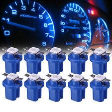 10* Car Dashboard Instrument InteriorT5 B8.5D 5050 LED Light Bulbs Accessories