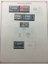 TCStamps 6x Pages of OLD Falkland Island Postage Stamps 203