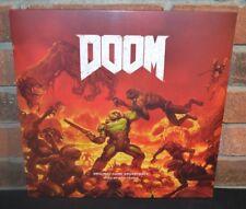 DOOM - GAME SOUNDTRACK, Limited 2LP 1st Press 180G RED VINYL New & Sealed!