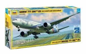 Zvezda 7012 CIVIL AIRLINER BOEING 777-300™ ER 1/144