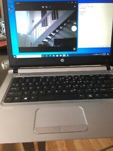 HP Laptop Pro Book 440 G3 Intel i3-6100U@2.30Ghz/4Gb Ram /120 SSD, Web Cam /w10